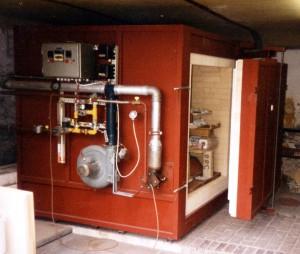 zelfgebouwde gasoven