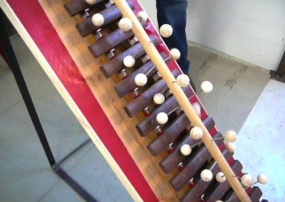 Zonder titel – houten xylofoon